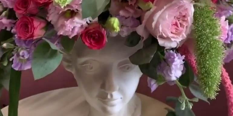 Цветы в голове??? Не вопрос!!!